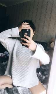 White/Cream Knitted Jumper