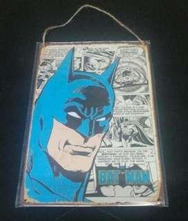 Tin Signboard (BatMan)