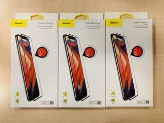 Baseus iPhone XS Max 全屏鋼化保護膜三塊