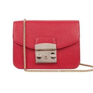 Furla Metropolis Bag 紅色