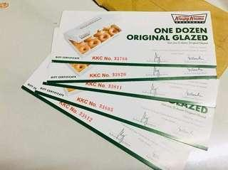 Discounted Krispy Kreme Voucher