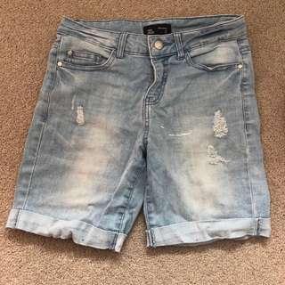 Jay jays size 8 mid length shorts