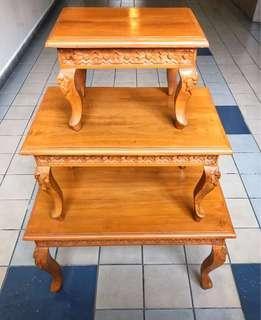 Beautiful 3piece set Side Table