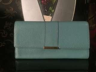 FOSSIL wallet in Turquoise