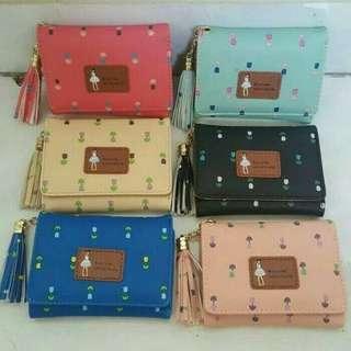 Dompet wanita / dompet lipat / dompet mungil / dompet kecil