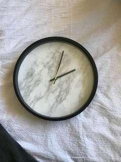 Marble clock & marble table