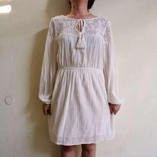 Forever 21 white dress