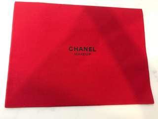 Chanel Paris makeup pouch