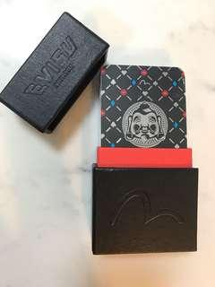 Evisu Leather pack of cards