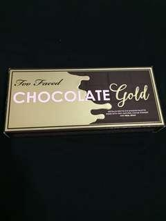 [100% Authentic] BRAND NEW Too Faced Chocolate Gold Metallic Matte Eyeshadow Palette