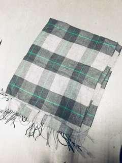 New plaid scarf / shawl