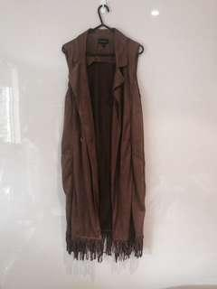 Suede style jacket