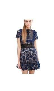 BNew Guipure Lace Dress
