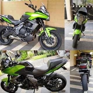 Motor Kawasaki Versys 650 ABS 2013
