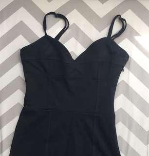 Tight black dress (small)