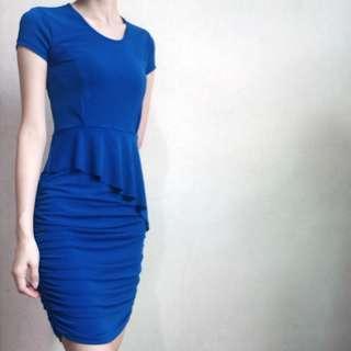 KIMONO by Karimadon Blue Dress