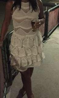 Mossman lace dress sz 8 worn once