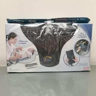 New Deluxe Fold & Go Diapering Kit