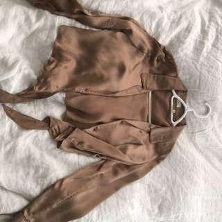 Aritzia Wilfred Peaufiner blouse