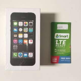 BNEW: iPhone 5s 16gb Space Gray