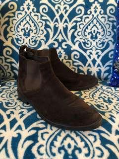 Geox Brown Leather Boots