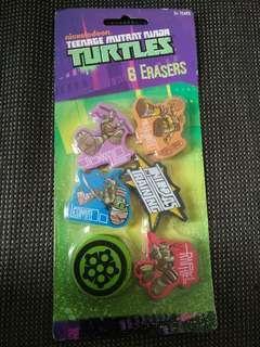 TMNT Erasers