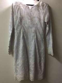 Custom made nikah dress