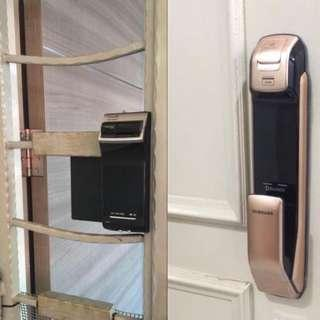 Digital Door Lock  Package - With installation on Gate / Door Package