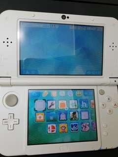 Modded New 3ds Xl Pearl White Excellent Condition! Download Any Game Free!