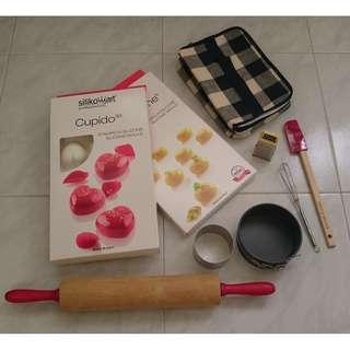 Assorted kitchen tools wares