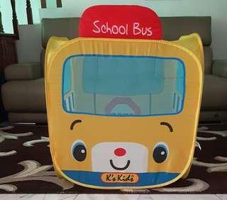 K's Kids School Bus Ball Pit