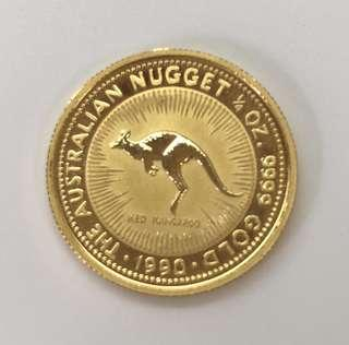 Australia Gold Coin (Limited edition, year: 1990) ✅