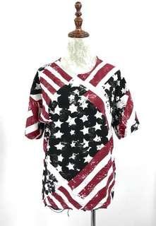 Flag long blouse (S-L)