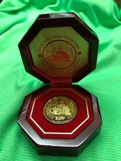 Zodiac Coin - Tiger (999 Pure Gold) ❤️