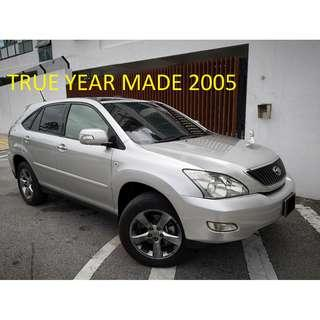 2005 Toyota HARRIER 2.4 PANO ROOF Power Boot