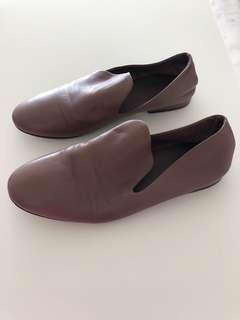 Authentic soft leather Cos shoes