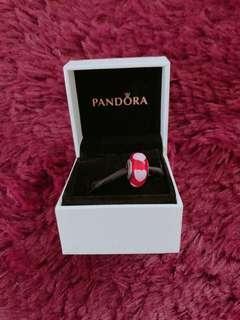Authentic Pandora Murano Heart Charm
