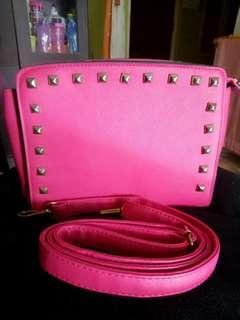Tas import pink