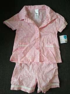 Girls size 2 pyjamas new with tag