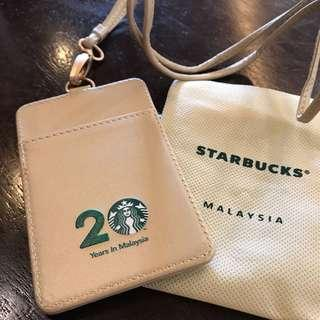 Starbucks 20th Anniversary Card holder