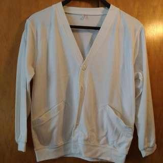 上學白外衣