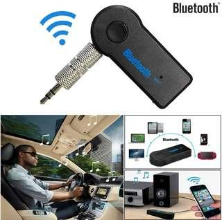 Bluetooth 3.5mm AUX Audio Receiver Adapter Stereo Music Home Car Mic HiFi Surrounding Music