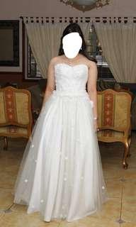 White Gown for Prom or Wedding