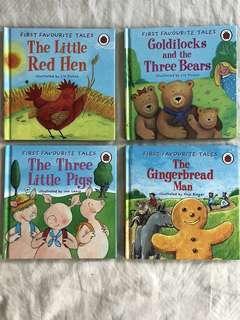 4 x Classic Ladybird books