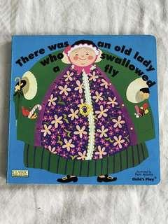 Classic Story book - There was an old lady...