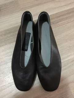 Topshop leather flats