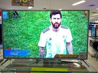 "Polytron LED 50"" Digital Flat TV Promo Kredit Gratis 1x Cicilan Proses Cepat"