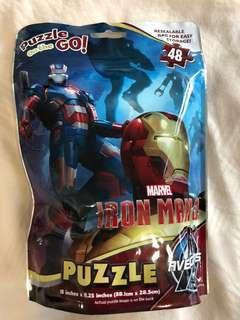 Iron Man Puzzle in a bag