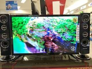 "Polytron LED TV 32"" Digital TV+Speaker Tower Promo Kredit Disc 1x Cicilan"