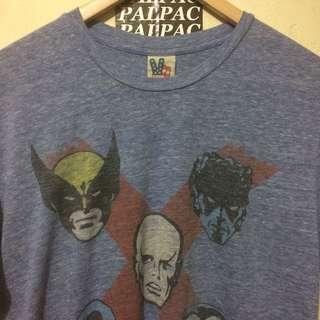Ts vintage X-MEN by JunkFood Sz S fit M made in USA